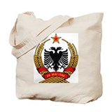 Albanian Coat of Arms Tote Bag