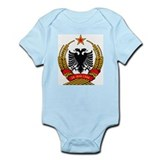 Albanian Coat of Arms Infant Creeper