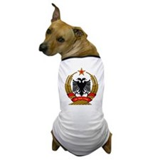 Albanian Coat of Arms Dog T-Shirt