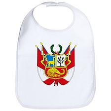 Peru Coat of Arms Bib