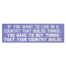 BUY AMERICAN - Bumper Sticker