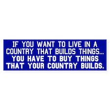 BUY AMERICAN - Bumper Sticker