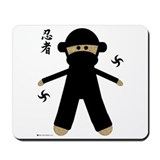 Unique Ninja star Mousepad