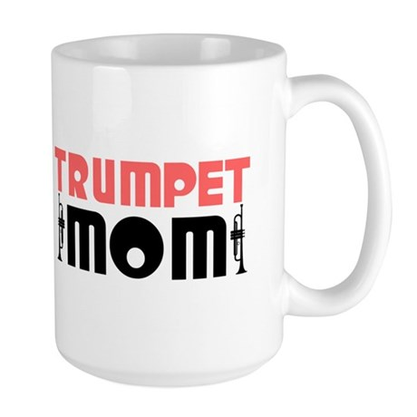 Trumpet Mom Large Mug