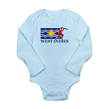West Indies Cricket Player Long Sleeve Infant Body