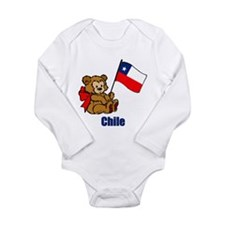 Chile Teddy Bear Onesie Romper Suit