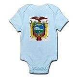 Ecuador Coat of Arms Infant Creeper