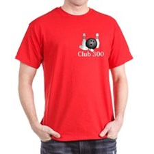 Club 300 Logo 1 T-Shirt Design Front Pocket