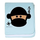 Sock Monkey Ninja Infant Blanket