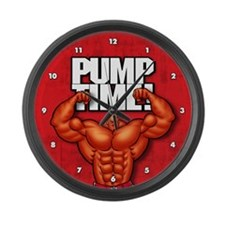 Pump Time! - Large Wall Clock