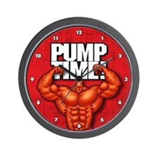 Pump Time! - Wall Clock