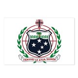 Western Samoa Coat of Arms Postcards (Package of 8