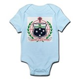 Western Samoa Coat of Arms Infant Creeper