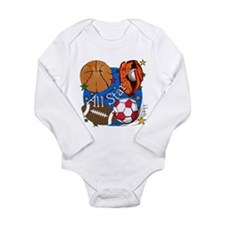 All Star Sports Long Sleeve Infant Bodysuit