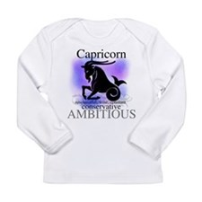 Capricorn the Goat Long Sleeve Infant T-Shirt
