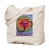 Chakra inspired Om Tote Bag