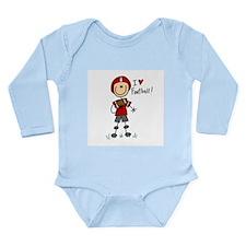Football Mom Long Sleeve Infant Bodysuit
