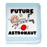 Male Future Astronaut Infant Blanket