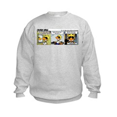 0196 - Getting paid to fly Kids Sweatshirt