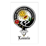 Lennie Clan Crest Badge Postcards (Package of 8)