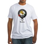 Lennie Clan Crest Badge Fitted T-Shirt