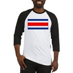 Costa Rica Flag Baseball Jersey