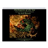 Harlequins of the Sea Wall Calendar