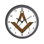 Masonic UGLE Style Wall Clock