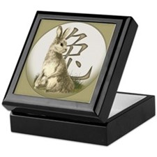 Chinese Year of the Rabbit Keepsake Box