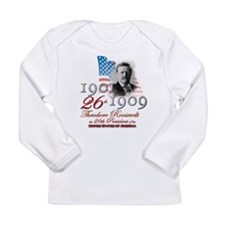 26th President - Long Sleeve Infant T-Shirt