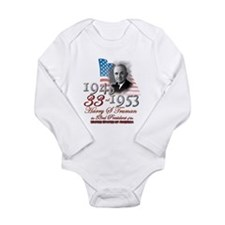 33rd President - Long Sleeve Infant Bodysuit