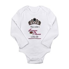 Kenyan Princess - Long Sleeve Infant Bodysuit
