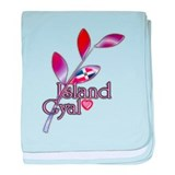 Island Gyal twig - DR - Infant Blanket
