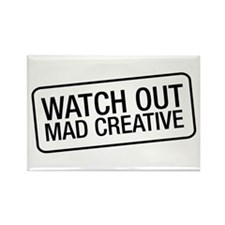 Mad Creative Rectangle Magnet (10 pack)