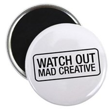 "Mad Creative 2.25"" Magnet (10 pack)"