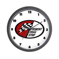 Fremont Drag Strip Wall Clock