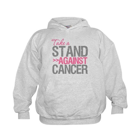 Take a Stand Breast Cancer Kids Hoodie