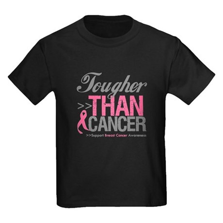 Tougher Than Cancer Kids Dark T-Shirt