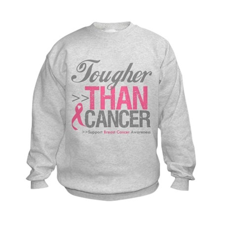 Tougher Than Cancer Kids Sweatshirt