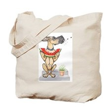 Great Dane Spit! Melon FAWN Tote Bag