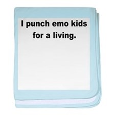 I Punch Emo's Infant Blanket