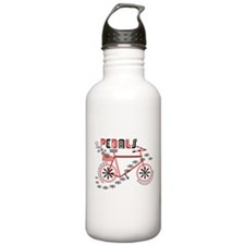 Pedals Cyclist Water Bottle