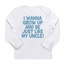 Just Like My Uncle Long Sleeve Infant T-Shirt