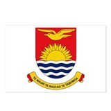 Kiribati Coat of Arms Postcards (Package of 8)