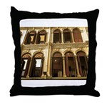Singapore Shopkeeper Homes Throw Pillow