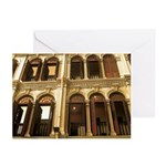Singapore Shopkeeper Homes Greeting Cards (Pk of 2