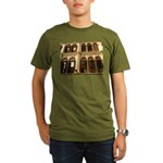 Singapore Shopkeeper Homes Organic Men's T-Shirt (