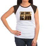 Singapore Shopkeeper Homes Women's Cap Sleeve T-Sh