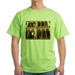 Singapore Shopkeeper Homes Green T-Shirt