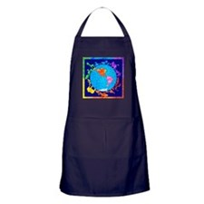 Peaceful Animal Kingdom Apron (dark)